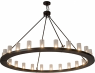 Meyda Tiffany 184951 Loxley Contemporary Timeless Bronze Ceiling Chandelier