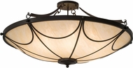 Meyda Tiffany 185873 Carousel Timeless Bronze Ceiling Light Fixture