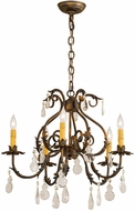 Meyda Tiffany 187262 Chantilly French Bronze Chandelier Lamp