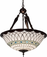 Meyda Tiffany 187565 Tiffany Roman Tiffany Drop Ceiling Lighting