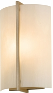 Meyda Tiffany 187824 Cilindro Burbank Contemporary Champagne Metallic Sconce Lighting