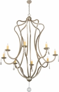 Meyda Tiffany 188414 Lumierre Brown Chandelier Lighting