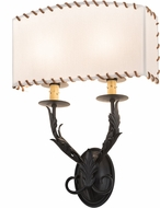 Meyda Tiffany 189075 Ranchero Bronze Lamp Sconce