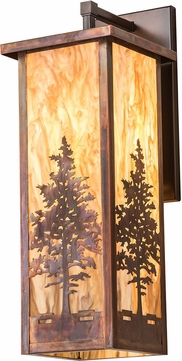 Meyda Tiffany 190093 Tamarack Vintage Copper Wall Mounted Lamp