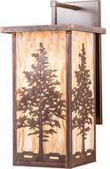 Meyda Tiffany 190095 Tamarack Vintage Copper Outdoor Wall Light Sconce