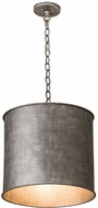 Meyda Tiffany 190683 Carson Galvanized Drum Lighting Pendant
