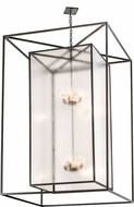 Meyda Tiffany 192632 Kitzi Box Rainstone Idalight Timeless Bronze Foyer Lighting