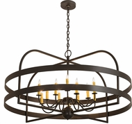 Meyda Tiffany 192811 Aldari Bronze Chandelier Lamp
