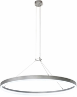 Meyda Tiffany 192970 Anillo Apollonia Contemporary Contrail Mist Nickel LED Hanging Light Fixture