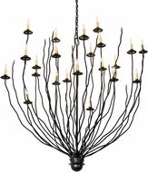 Meyda Tiffany 193565 Sycamore Contemporary Bronze Hanging Chandelier
