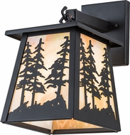 Meyda Tiffany 193853 Stillwater Tall Pine Oil Rubbed Bronze Bai Light Sconce