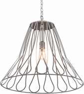 Meyda Tiffany 194976 Larme Modern Steel LED Pendant Light