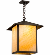 Meyda Tiffany 2151 Seneca Prime Craftsman Beige Pendant Lighting