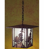Meyda Tiffany 29273 Tall Pines Antique Copper Finish 50  Tall Foyer Drop Lighting Fixture