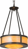 Meyda Tiffany 38739 Arts & Crafts Bai Craftsman Drum Pendant Light