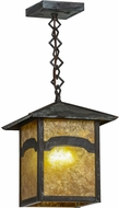 Meyda Tiffany 39512 Seneca Mountain View Mission Amber Mica Verd Pendant Lighting
