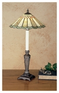 Meyda Tiffany 48384 Jadestone Carousel Tiffany 23  Tall Table Lamp Lighting