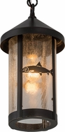 Meyda Tiffany 50116 Bonefish Fulton Rustic Pendant Lighting