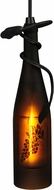 Meyda Tiffany 51120 Tuscan Vineyard Grapes Contemporary Amber / Sandblasted / Grape Design Mini Pendant Lighting Fixture