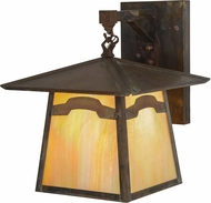 Meyda Tiffany 54632 Stillwater Mountain View Craftsman Bai Vintage Copper Light Sconce