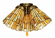 Meyda Tiffany 65093 Jadestone Delta Tiffany 5  Wide Fan Light Fixture