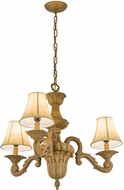 Meyda Tiffany 66035 Charlotte Textrene Mini Chandelier Light