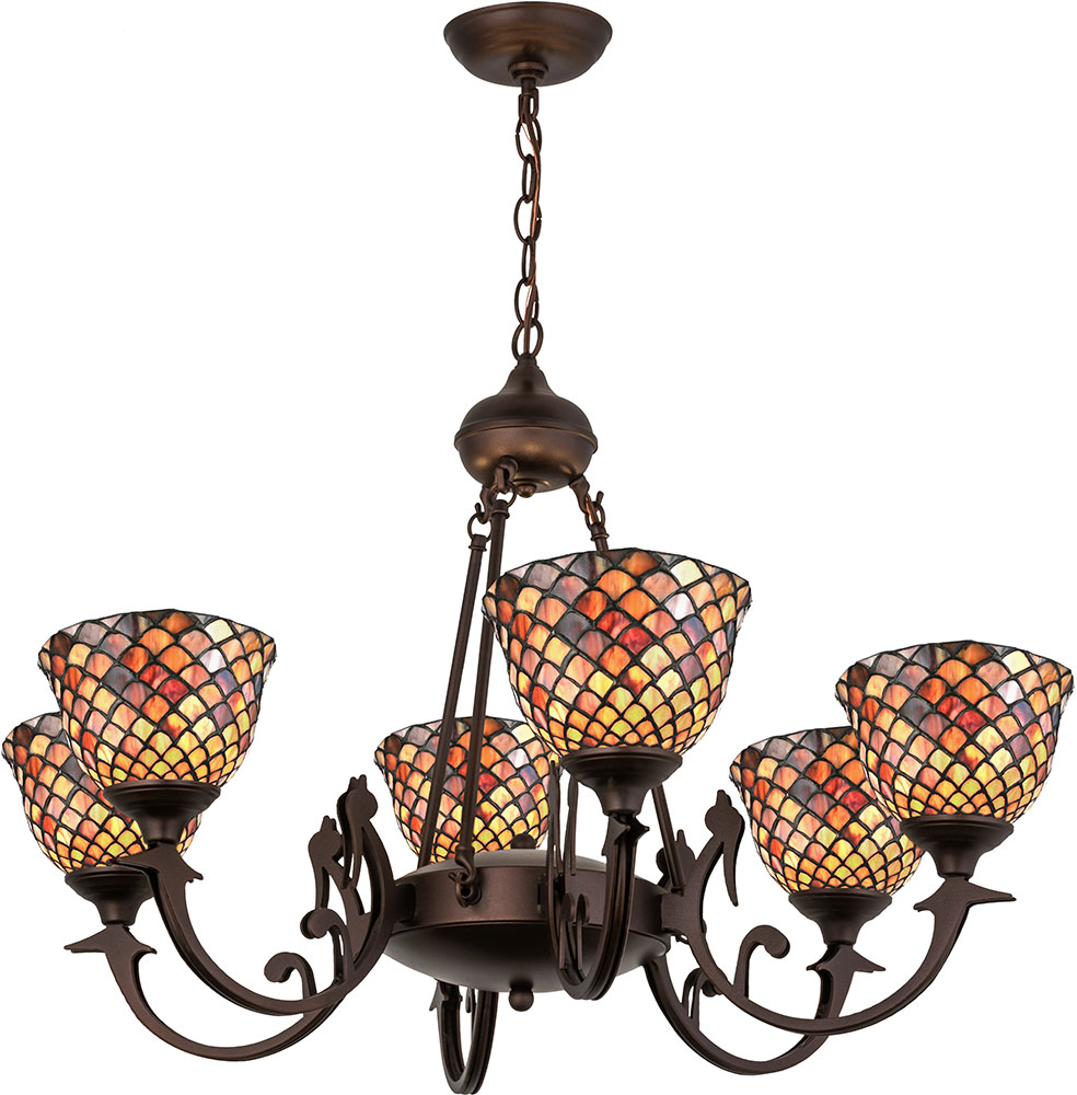 Meyda tiffany 74043 fishscale tiffany chandelier light mey 74043 meyda tiffany 74043 fishscale tiffany chandelier light loading zoom aloadofball Image collections