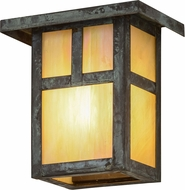 Meyda Tiffany 89636 Hyde Park  T  Mission Mission Bai Verd Outdoor Lamp Sconce