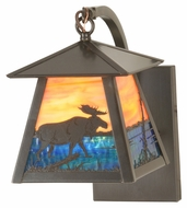 Meyda Tiffany 98376 Stillwater Moose Creek 10.5  Tall Outdoor Light Sconce
