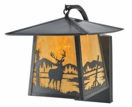 Meyda Tiffany 99454 Stillwater Deer Creek 12  Wide Exterior Wall Sconce Lighting