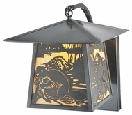 Meyda Tiffany 99455 Stillwater Beaver 13  Tall Exterior Wall Light Fixture