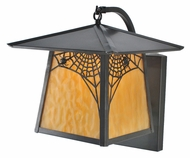 Meyda Tiffany 99459 Stillwater Spider Web 13  Tall Exterior Wall Mounted Lamp
