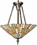 Meyda Tiffany 99681 Delta Jadestone Tiffany Hanging Light