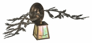 Meyda Tiffany 99684 Pine Branch Valley View Antique Copper Finish 9  Tall LED Wall Sconce