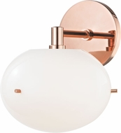 Mitzi H102101-POC Winnie Modern Polished Copper LED Wall Light Fixture