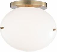 Mitzi H102601-AGB Winnie Contemporary Aged Brass LED Ceiling Lighting