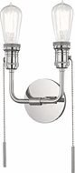 Mitzi H106102-PN Lexi Contemporary Polished Nickel Lighting Wall Sconce