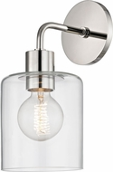 Mitzi H108101-PN Neko Contemporary Polished Nickel Wall Light Sconce