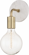 Mitzi H110101A-AGB Chloe Modern Aged Brass Wall Sconce Lighting