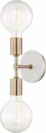 Mitzi H110102-AGB Chloe Modern Aged Brass Wall Light Sconce