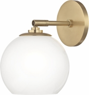 Mitzi H121101-AGB Tilly Contemporary Aged Brass LED Wall Sconce Lighting