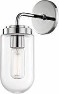 Mitzi H124101-PN Clara Contemporary Polished Nickel Wall Sconce