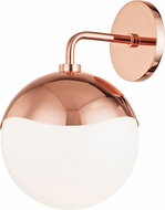 Mitzi H125101-POC Ella Contemporary Polished Copper Wall Lighting