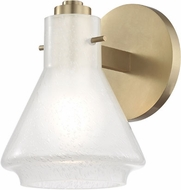 Mitzi H129301-AGB Rosie Contemporary Aged Brass Xenon Light Sconce