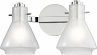 Mitzi H129302-PN Rosie Modern Polished Nickel Xenon 2-Light Vanity Lighting