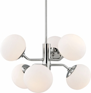 Mitzi H134806-PN Estee Modern Polished Nickel Chandelier Light