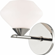 Mitzi H136301-PN Valerie Contemporary Polished Nickel Xenon Light Sconce