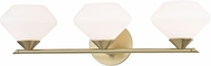 Mitzi H136303-AGB Valerie Modern Aged Brass Xenon 2-Light Bath Lighting