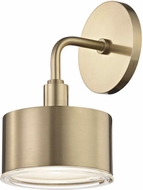 Mitzi H159101-AGB Nora Modern Aged Brass LED Sconce Lighting