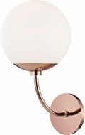 Mitzi H160101-POC Carrie Contemporary Polished Copper Wall Light Fixture